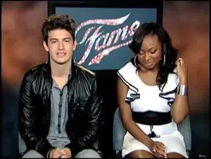 Asher Book & Naturi Naughton (Fame) Interview Video Thumbnail