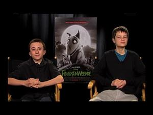 Atticus Shaffer & Charlie Tahan (Frankenweenie) Interview Video Thumbnail