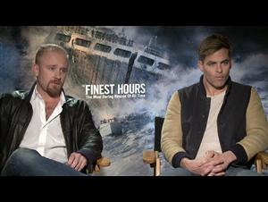 Ben Foster & Chris Pine - The Finest Hours Interview Video Thumbnail