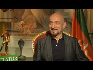 Ben Kingsley (The Dictator) Interview Video Thumbnail