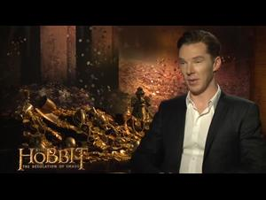 Benedict Cumberbatch (The Hobbit: The Desolation of Smaug) Interview Video Thumbnail