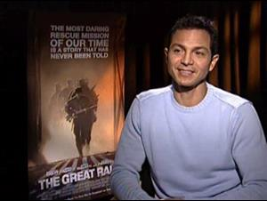 BENJAMIN BRATT - THE GREAT RAID Interview Video Thumbnail