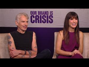 Billy Bob Thornton & Sandra Bullock - Our Brand Is Crisis Interview Video Thumbnail