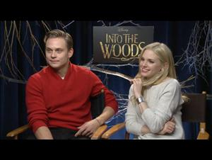 Billy Magnussen & Mackenzie Mauzy (Into the Woods) Interview Video Thumbnail