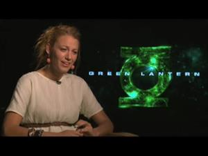 Blake Lively (Green Lantern) Interview Video Thumbnail