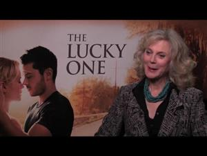 Blythe Danner (The Lucky One) Interview Video Thumbnail