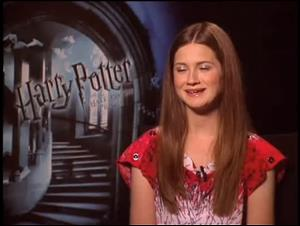 Bonnie Wright (Harry Potter and the Half-Blood Prince) Interview Video Thumbnail