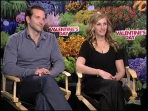 Bradley Cooper & Julia Roberts (Valentine's Day) Interview Video Thumbnail