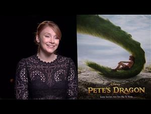Bryce Dallas Howard Interview - Pete's Dragon Video Thumbnail