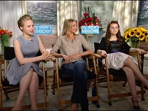 Cameron Diaz, Abigail Breslin & Sofia Vassilieva (My Sister's Keeper) Interview Video Thumbnail