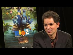 Carlos Saldanha (Rio 2) Interview Video Thumbnail