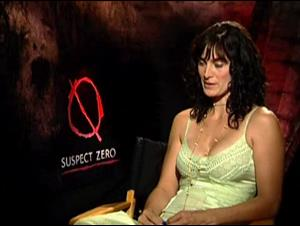 CARRIE-ANNE MOSS - SUSPECT ZERO Interview Video Thumbnail
