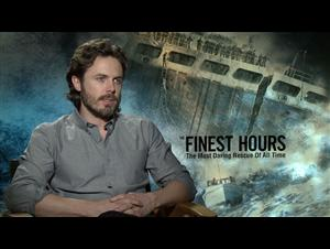 Casey Affleck - The Finest Hours Interview Video Thumbnail