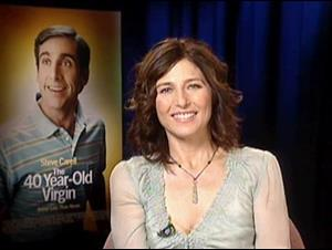 CATHERINE KEENER - THE 40 YEAR-OLD VIRGIN Interview Video Thumbnail