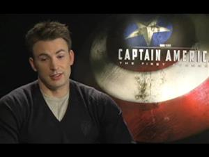 Chris Evans (Captain America: The First Avenger) Interview Video Thumbnail