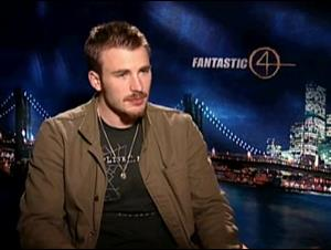 CHRIS EVANS - FANTASTIC FOUR Interview Video Thumbnail