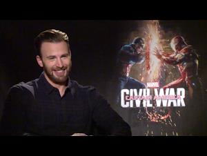 Chris Evans Interview - Captain America: Civil War Video Thumbnail