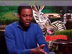 CHRIS ROCK - MADAGASCAR Interview Video Thumbnail