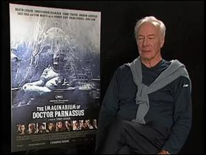 Christopher Plummer (The Imaginarium of Dr. Parnassus) Interview Video Thumbnail