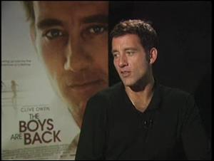 Clive Owen (The Boys are Back) Interview Video Thumbnail