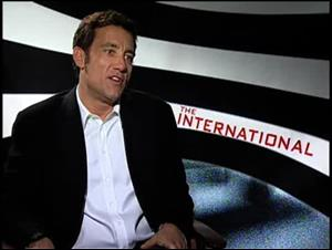 Clive Owen (The International) Interview Video Thumbnail