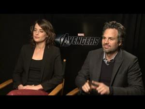 Cobie Smulders & Mark Ruffalo (The Avengers) Interview Video Thumbnail