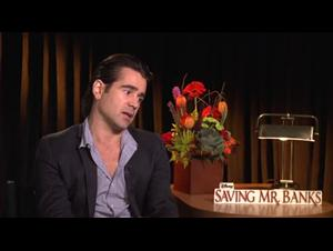 Colin Farrell (Saving Mr. Banks) Interview Video Thumbnail