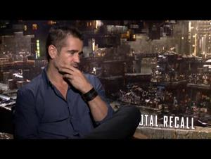 Colin Farrell (Total Recall) Interview Video Thumbnail