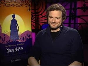 COLIN FIRTH (NANNY MCPHEE) Interview Video Thumbnail