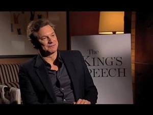 Colin Firth (The King's Speech) Interview Video Thumbnail