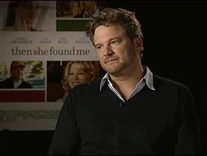 Colin Firth (Then She Found Me) Interview Video Thumbnail