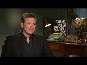 Colin Firth (Tinker Tailor Soldier Spy) Interview Video Thumbnail