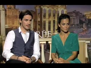 Colin O'Donoghue & Alice Braga (The Rite) Interview Video Thumbnail