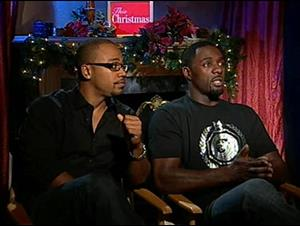 Columbus Short & Idris Elba (This Christmas) Interview Video Thumbnail