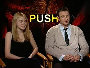 Dakota Fanning & Chris Evans (Push) Interview Video Thumbnail