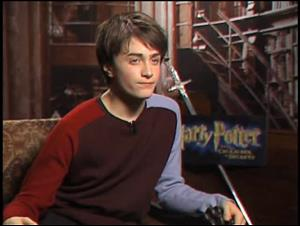 Daniel Radcliffe (Harry Potter and the Chamber of Secrets) Interview Video Thumbnail