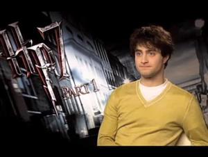Daniel Radcliffe (Harry Potter and the Deathly Hallows: Part 1) Interview Video Thumbnail
