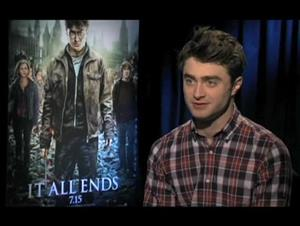 Daniel Radcliffe (Harry Potter and the Deathly Hallows: Part 2) Interview Video Thumbnail