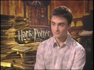 Daniel Radcliffe (Harry Potter and the Goblet of Fire) Interview Video Thumbnail