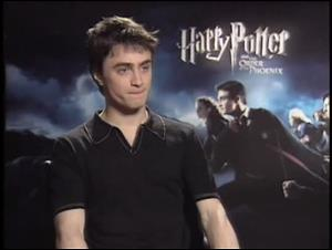 Daniel Radcliffe (Harry Potter and the Order of the Phoenix) Interview Video Thumbnail