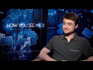 Daniel Radcliffe - Now You See Me 2 Interview Video Thumbnail