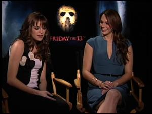 Danielle Panabaker & Amanda Righetti (Friday the 13th) Interview Video Thumbnail