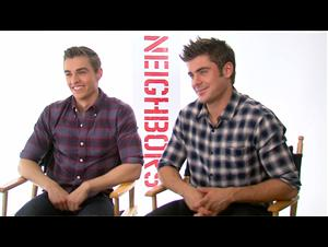 Dave Franco & Zac Efron (Neighbors) Interview Video Thumbnail