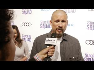 david-ayer-director-suicide-squad-red-carpet-interview Video Thumbnail