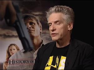 DAVID CRONENBERG - A HISTORY OF VIOLENCE Interview Video Thumbnail