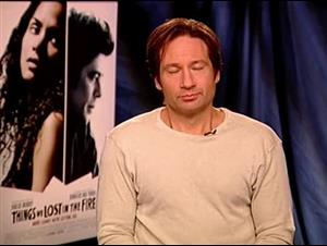David Duchovny (Things We Lost in the Fire) Interview Video Thumbnail