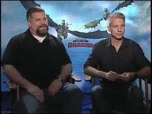 Dean DeBlois & Chris Sanders (How to Train Your Dragon) Interview Video Thumbnail