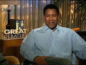 Denzel Washington (The Great Debaters) Interview Video Thumbnail