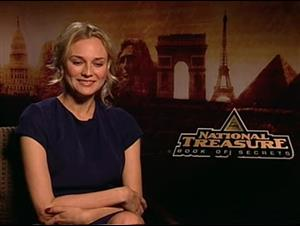 Diane Kruger (National Treasure: Book of Secrets) Interview Video Thumbnail