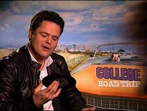 Donny Osmond (College Road Trip) Interview Video Thumbnail